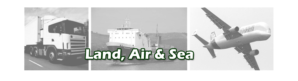 Road, Air, Sea Transport